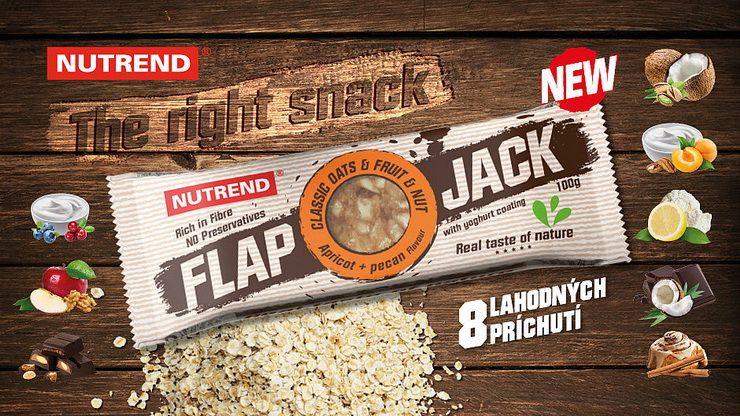 FLAPJACK - Nutrend energetická tyčinka