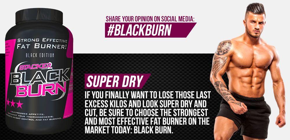 black burn spaľovač tukov