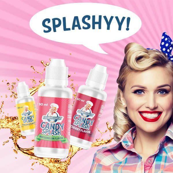 Candy Splash - Frankys Bakery ochutené kvapky bezkalorické