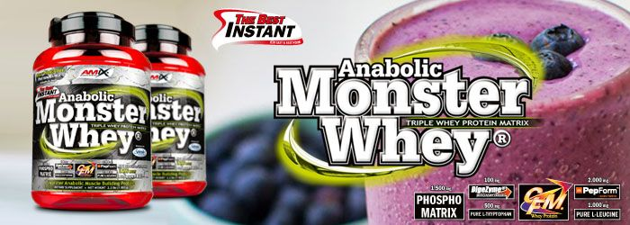 Proteín Anabolic Monster Whey amix