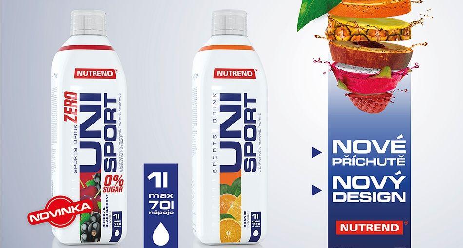 Unisport Zero nutrend športový nápoj