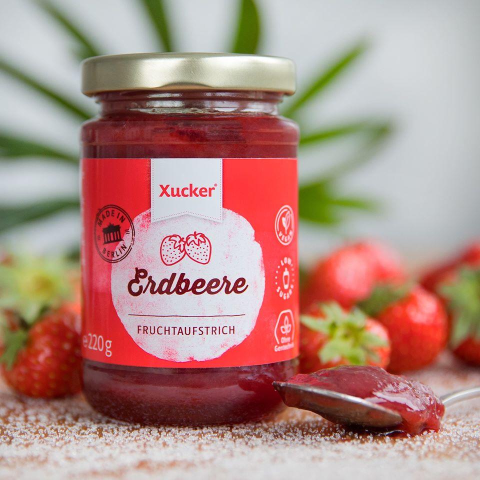 Jahodový džem - Xucker