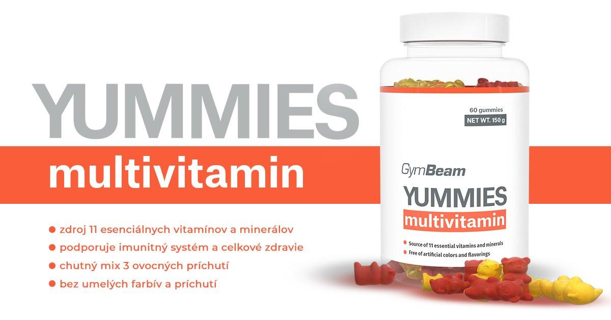 Yummies multivitamin - GymBeam