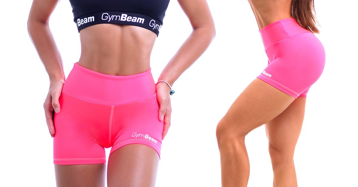 Dámske fitness šortky Fly-By Pink - GymBeam