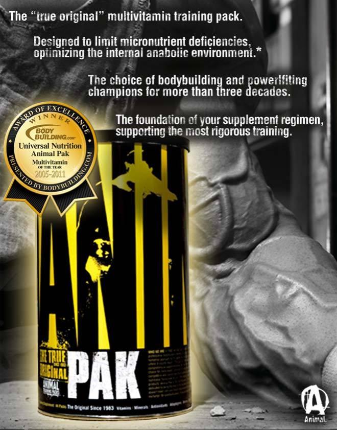 Animal Pak 44 sáčkov - Universal Nutrition