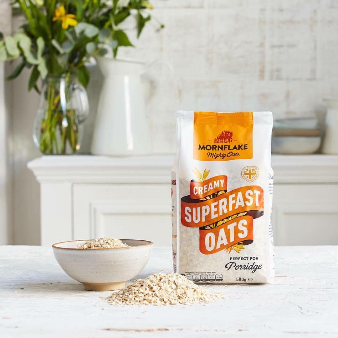 Ovsené vločky Creamy Superfast Oats 500 g - Mornflake
