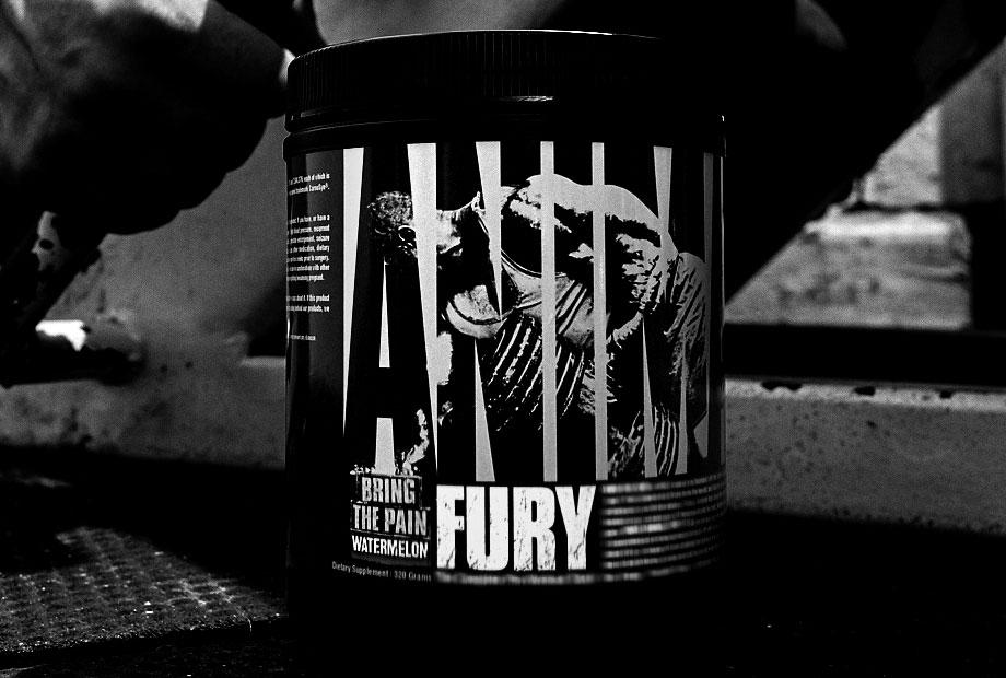 Predtréningový stimulant Animal Fury - Universal Nutrition