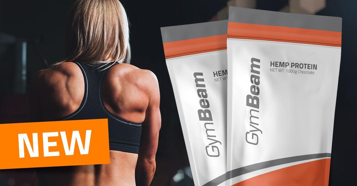 Konopný proteín - GymBeam