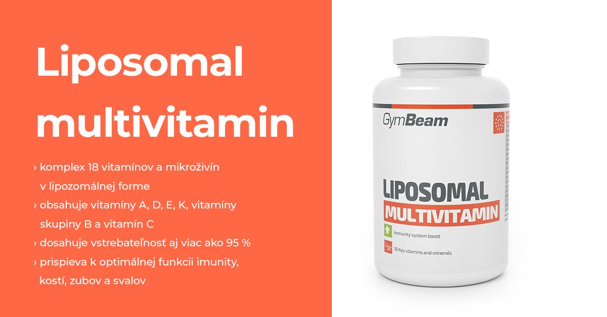 Lipozomálny Multivitamín - GymBeam