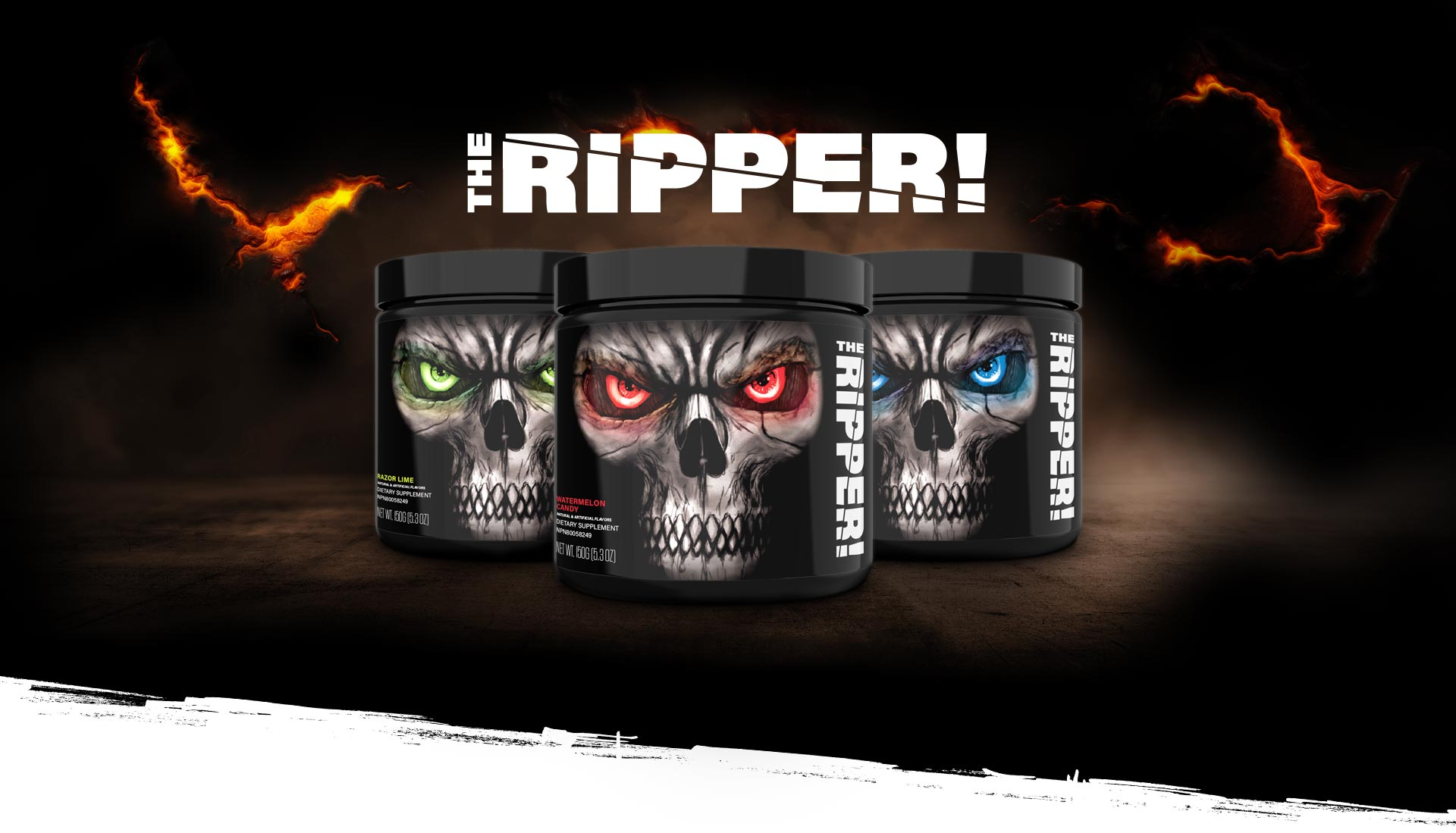 Spaľovač tukov The Ripper 150 g - JNX