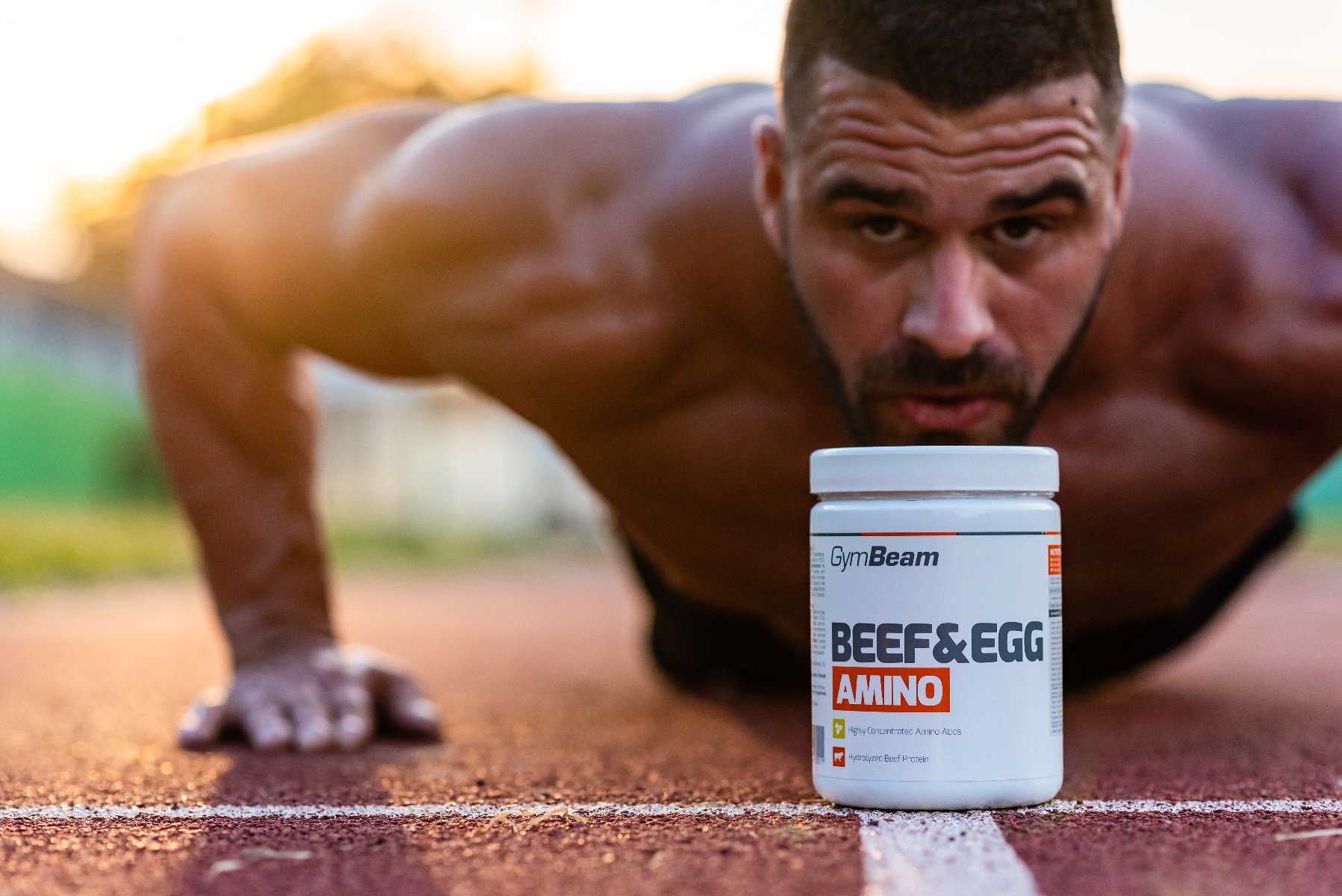 Beef&Egg amino - GymBeam