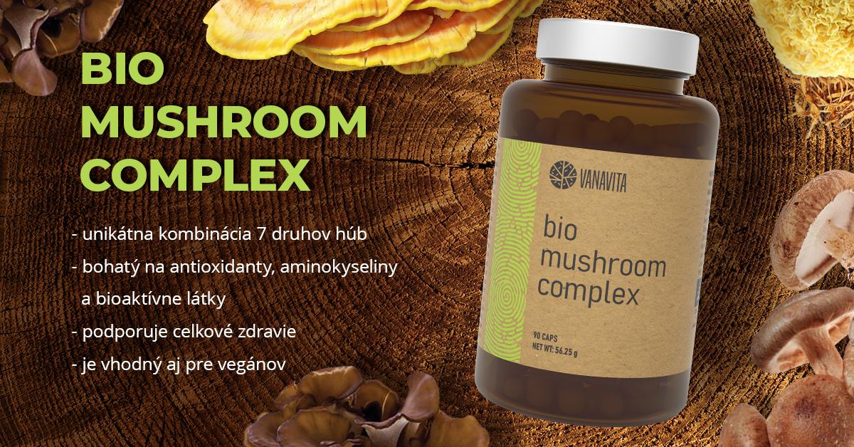 Extrakt z húb BIO Mushroom Complex - VanaVita