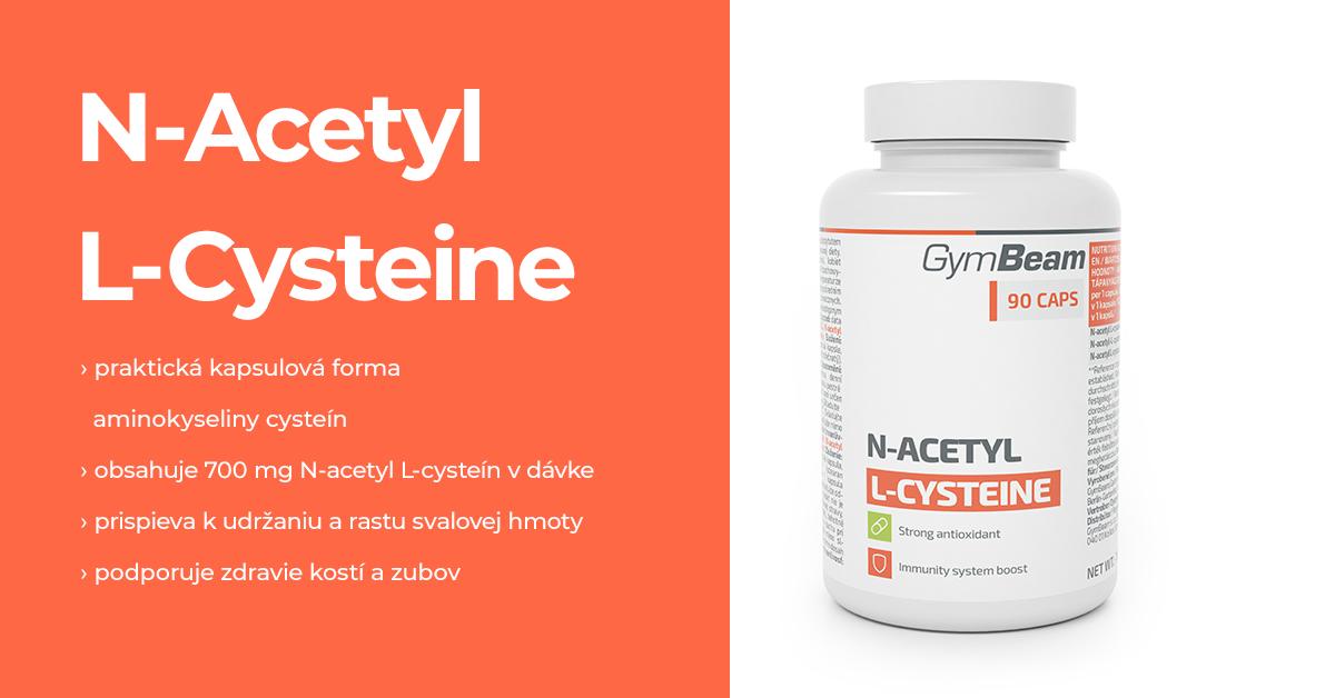 N-acetyl L-cysteín - GymBeam