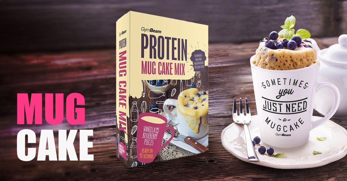 Proteínový protein Mug Cake Mix - gymbeam