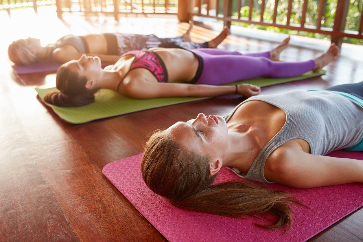 Podložka na cvičenie Yoga Mat green - gymbeam