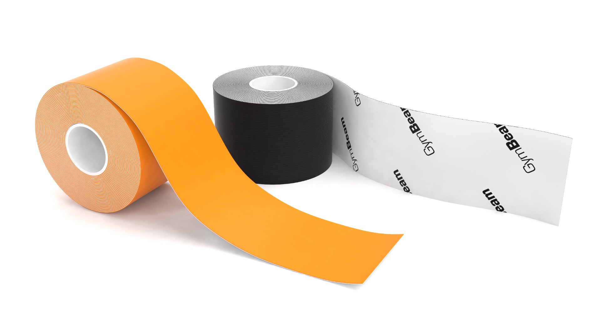 Kineziologická tejpovacia páska K tape Black - GymBeam