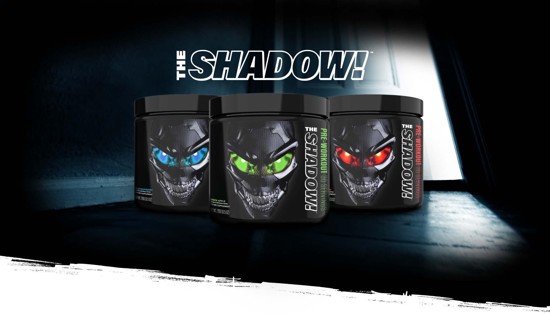 Predtréningový stimulant The Shadow 270 g - JNX